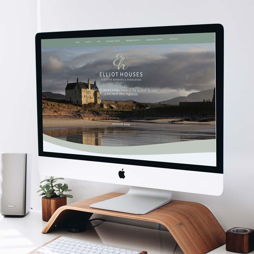 Elliot Houses Branding & Website