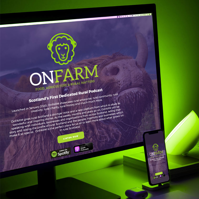 OnFarm, Scotland's first dedicated rural podcast
