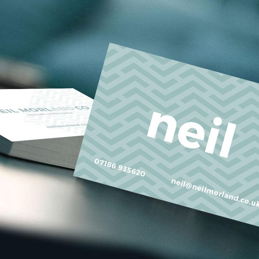 Neil Morland Branding & Website