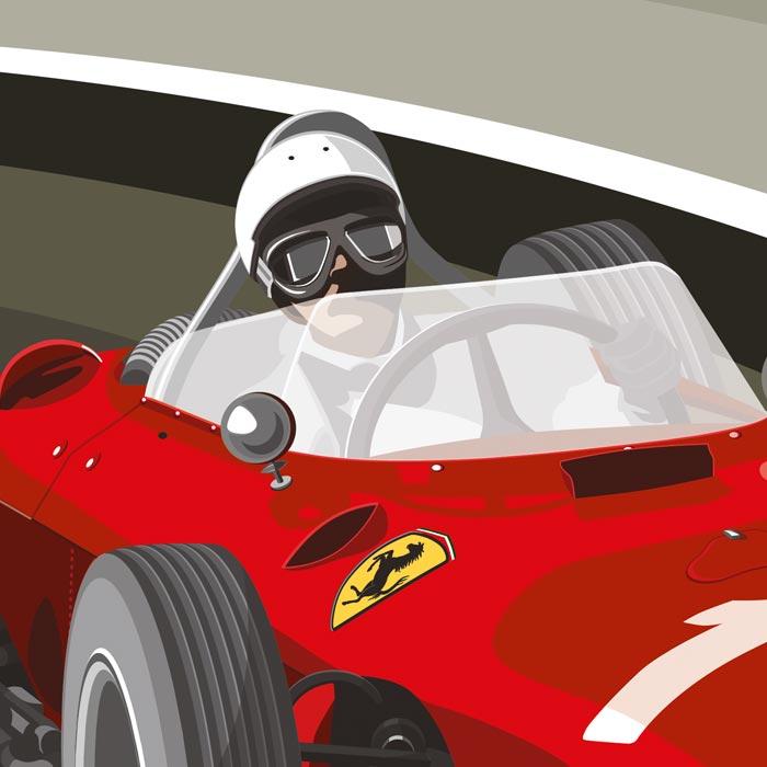 Ferrari Illustration