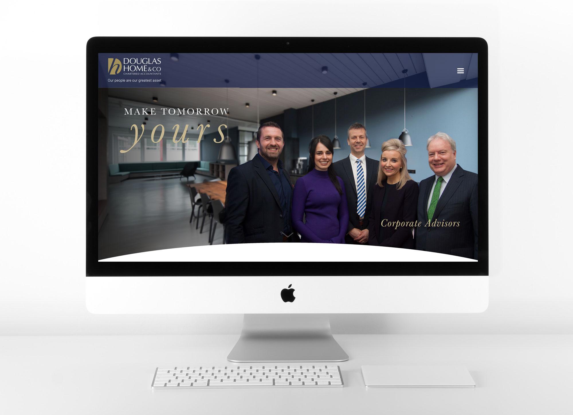 John Hamlin Douglas Home & Co Website Design