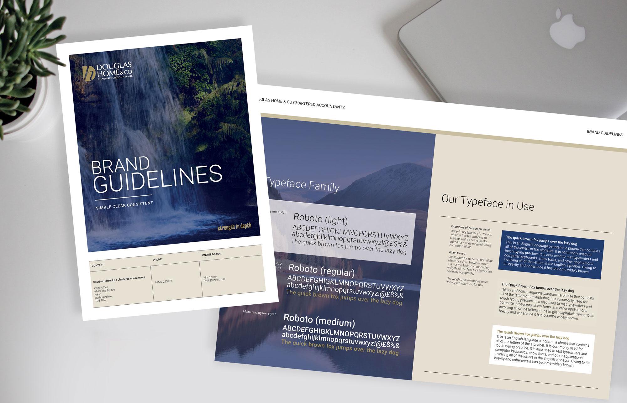 John Hamlin Douglas Home & Co Brand Guidelines