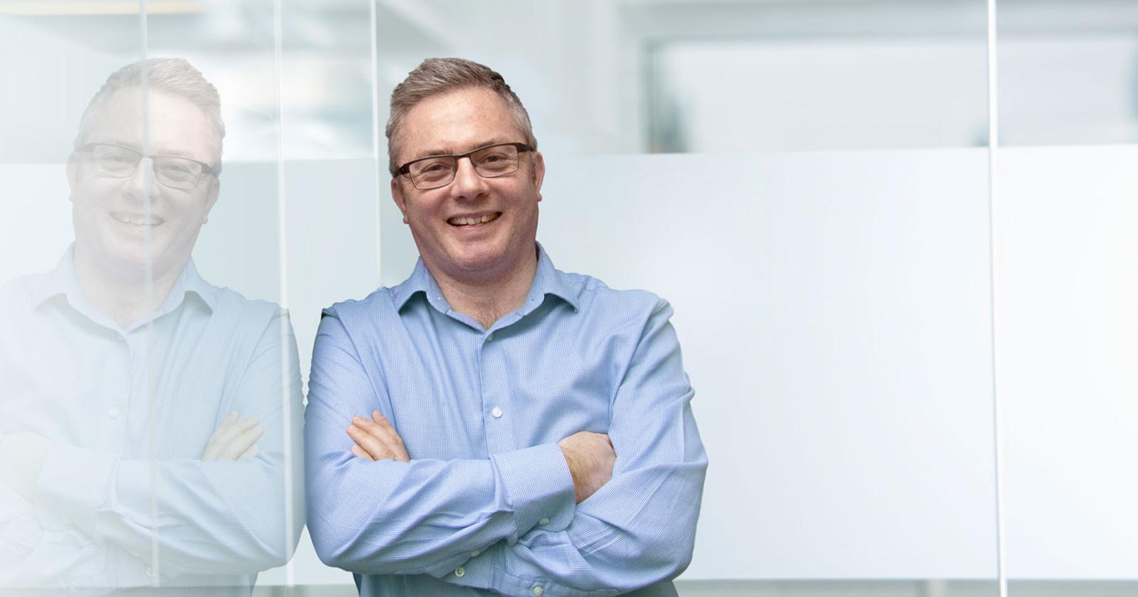 John Hamlin Photography Neil Morland Housing Consultants Portrait
