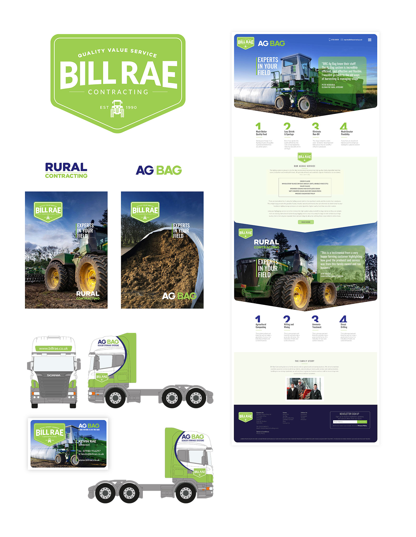John Hamlin Brand & Web Design Bill Rae Contracting