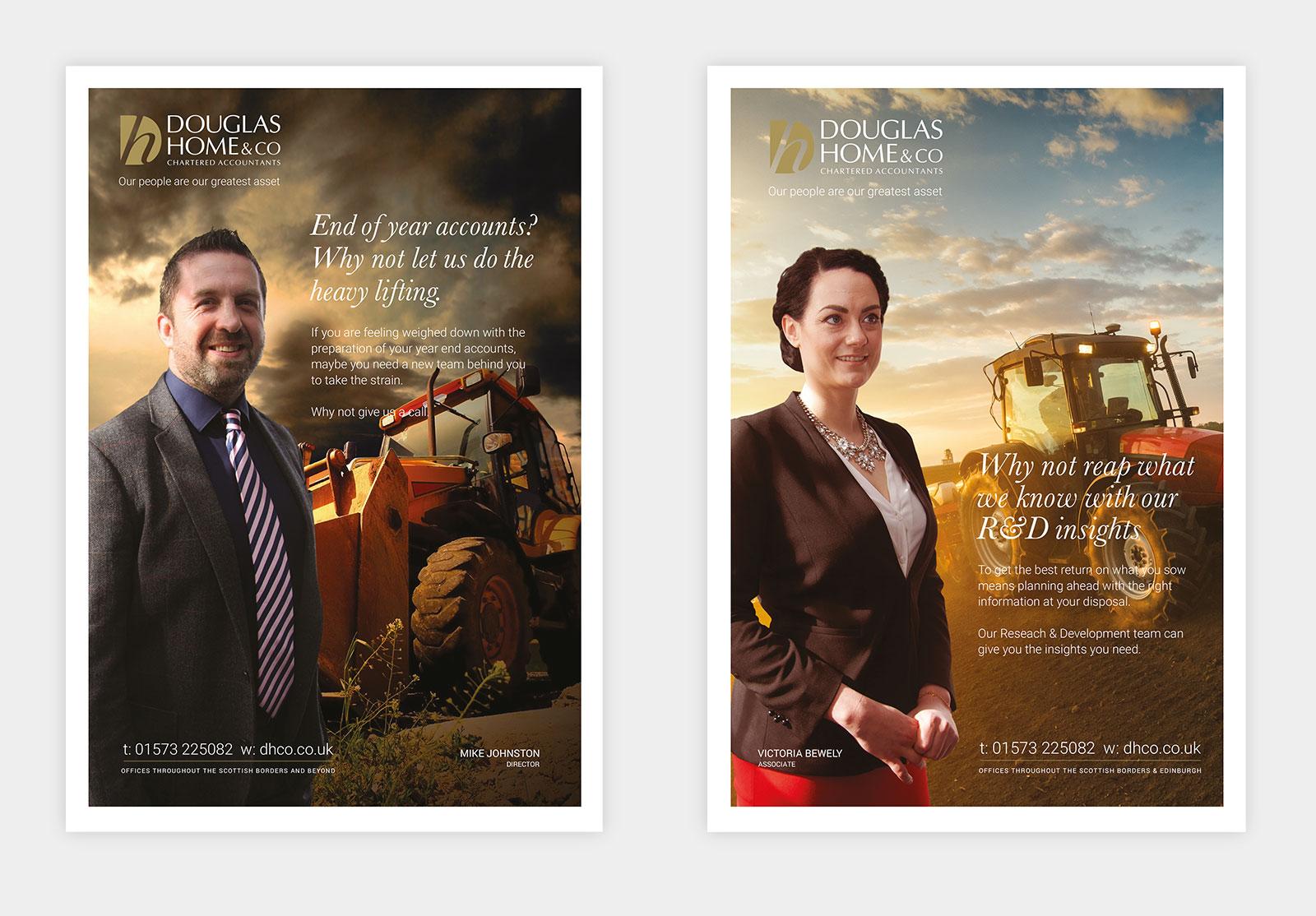 John Hamlin Douglas Home & Co Advertising Campaign