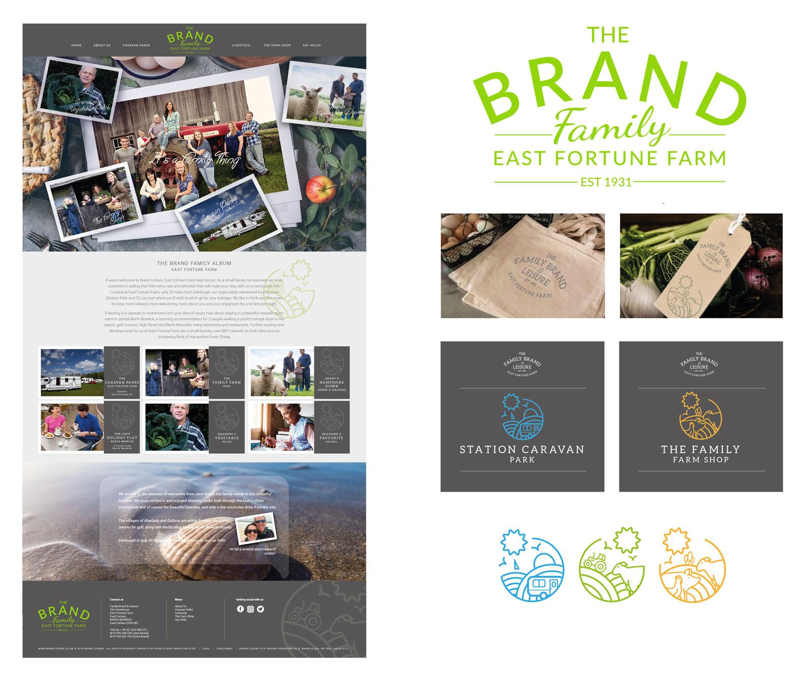 John Hamlin Brand & Web Designer The Brand Family East Fortune
