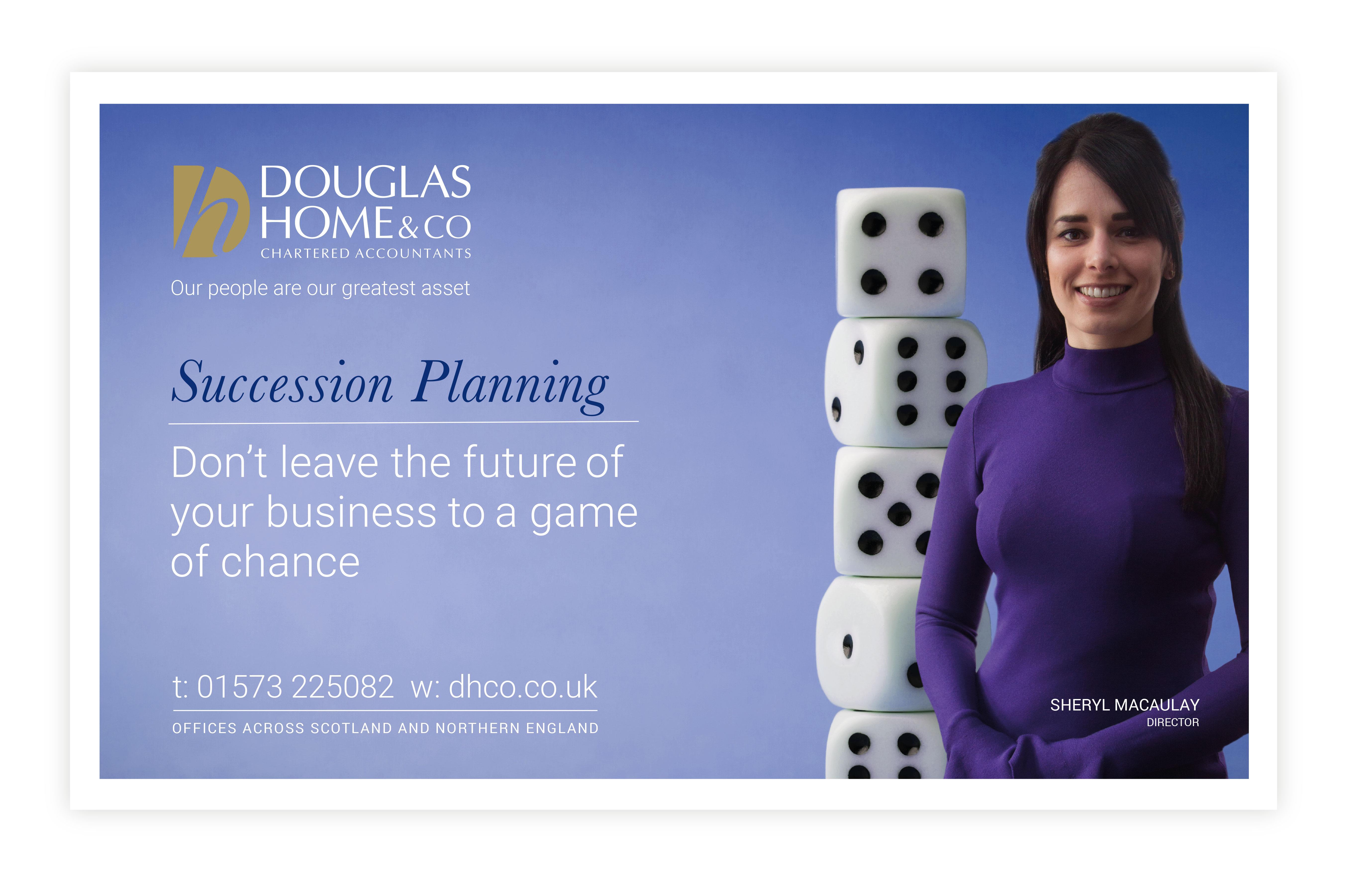 John Hamlin Douglas Home & Co Colour Ads