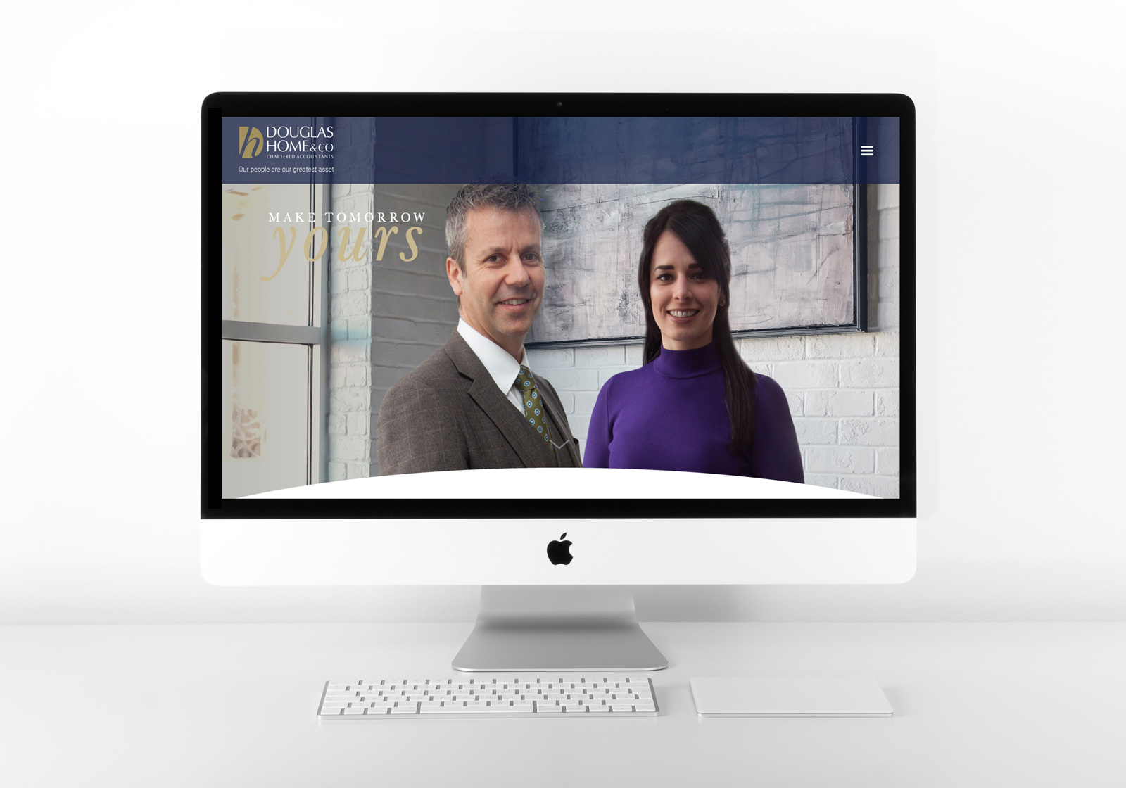 Douglas Home & Co Chartered Accountants Website Design