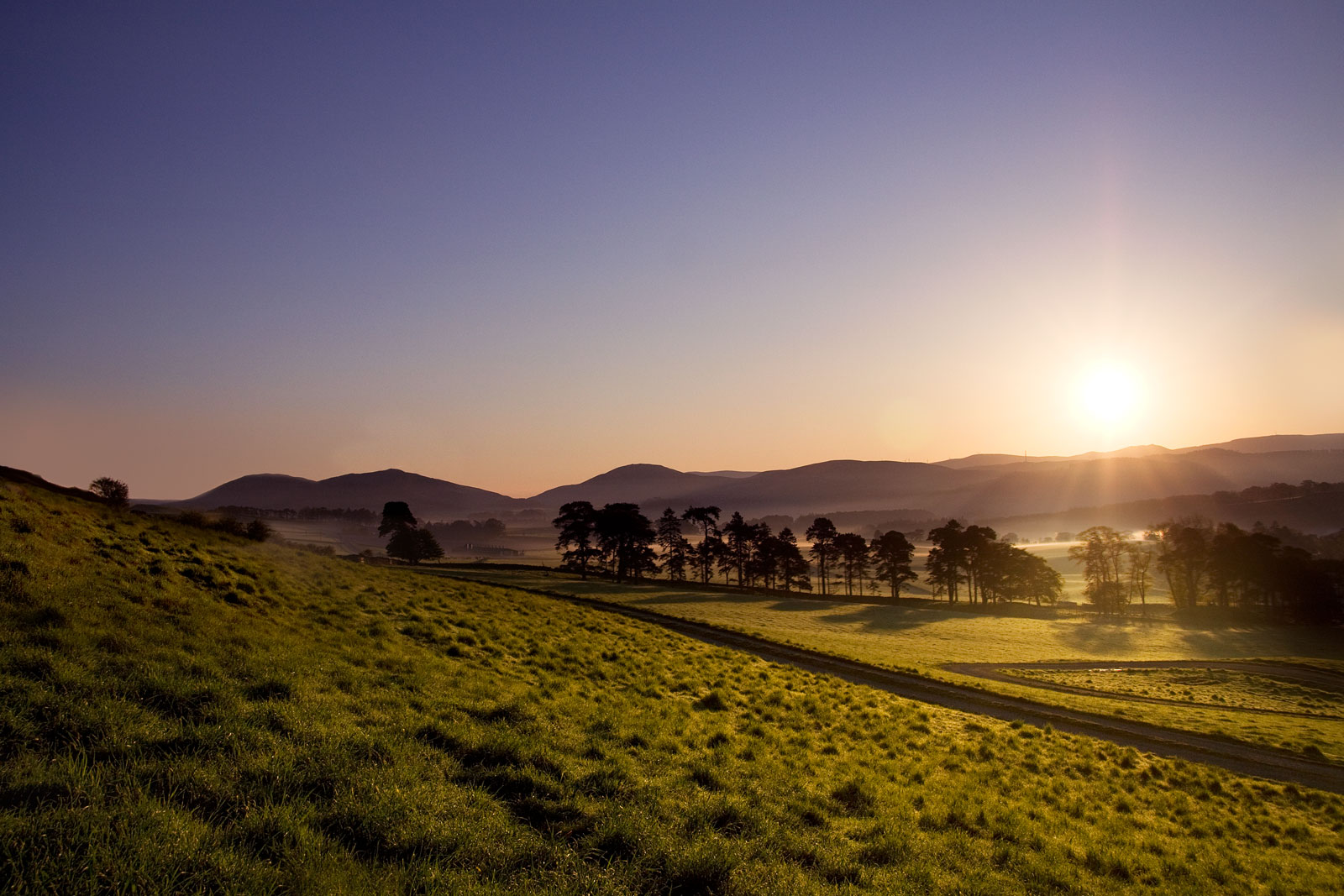 John Hamlin Photography Stobo Valley Sunrise