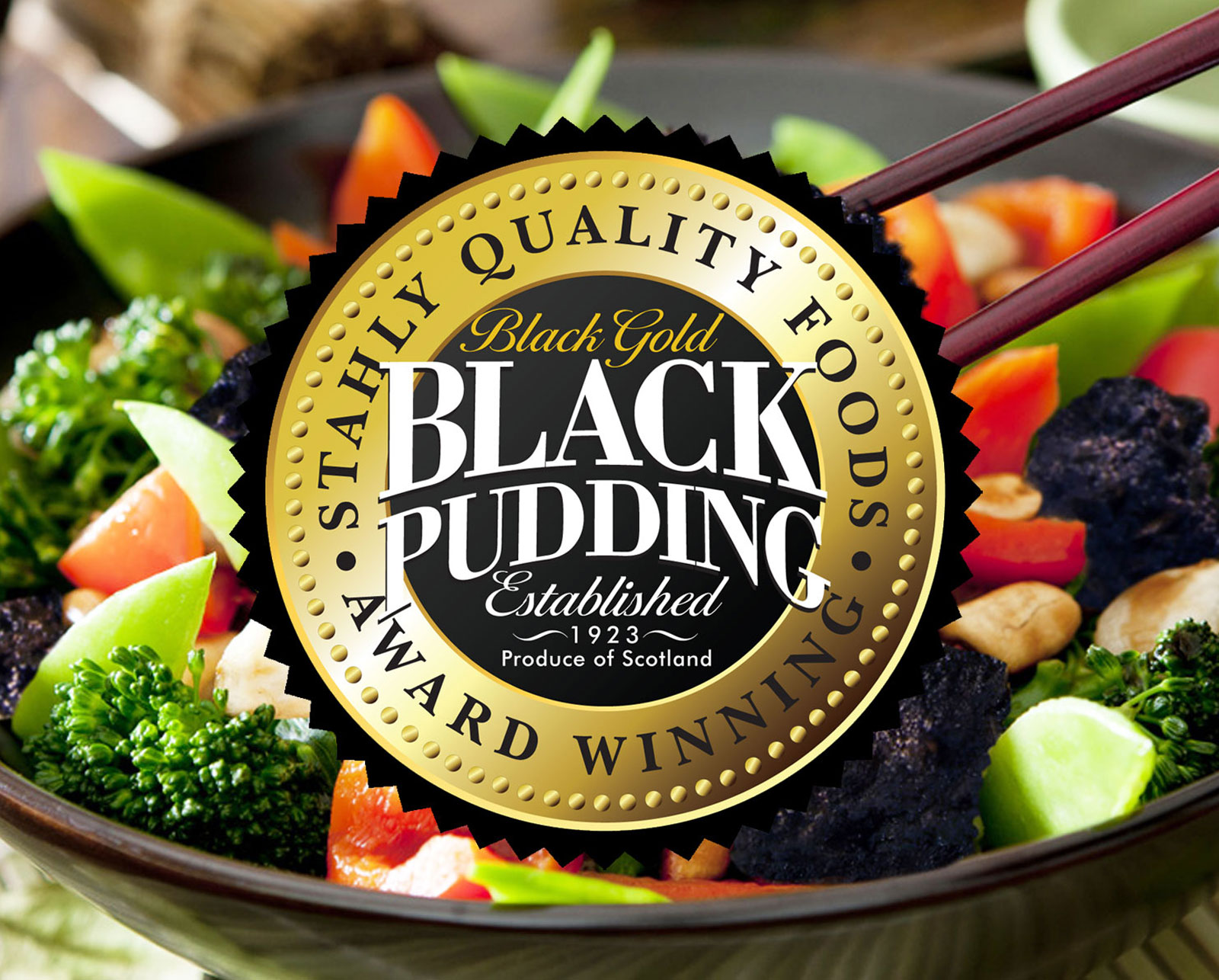 Stahly Quality Foods Black Pudding - Brand Ddesign