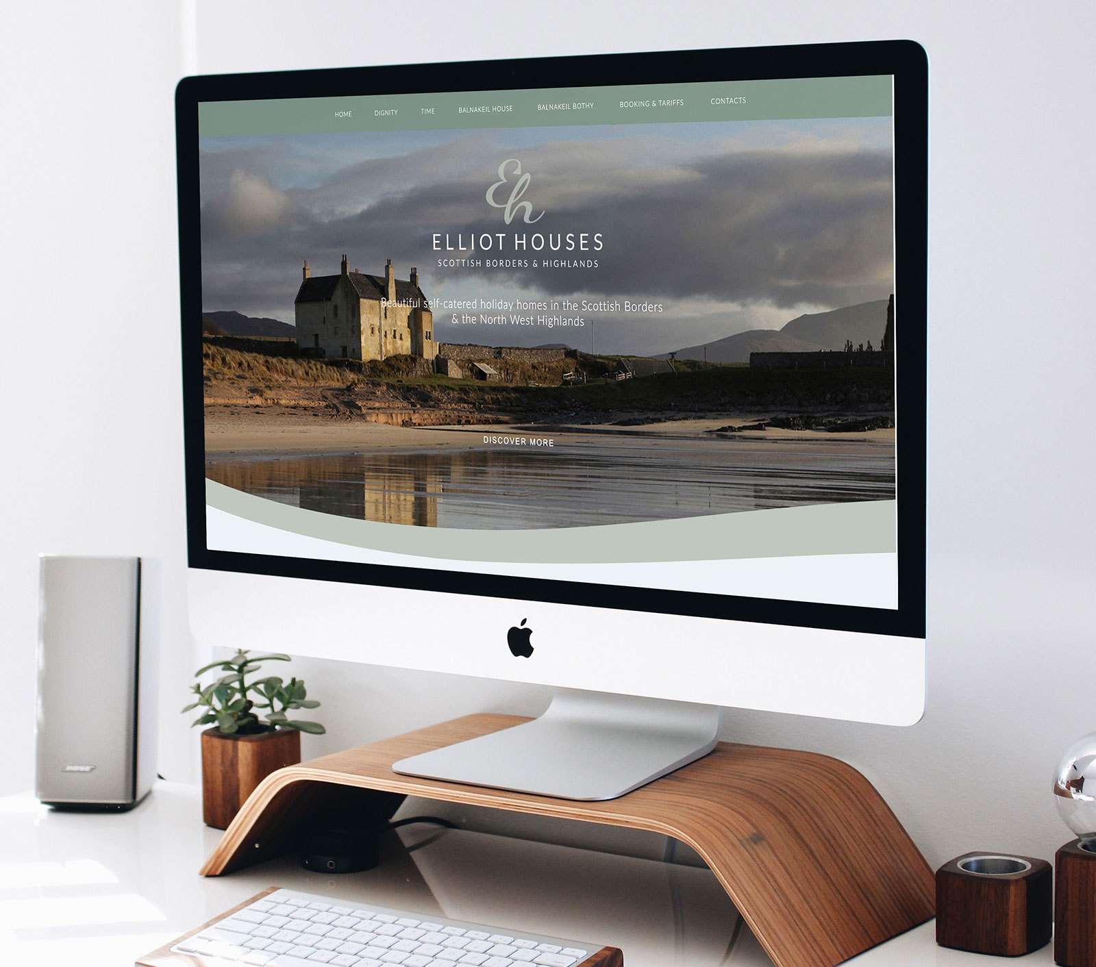 John Hamlin, Brand & Web Consultant - Elliot Houses Website Design
