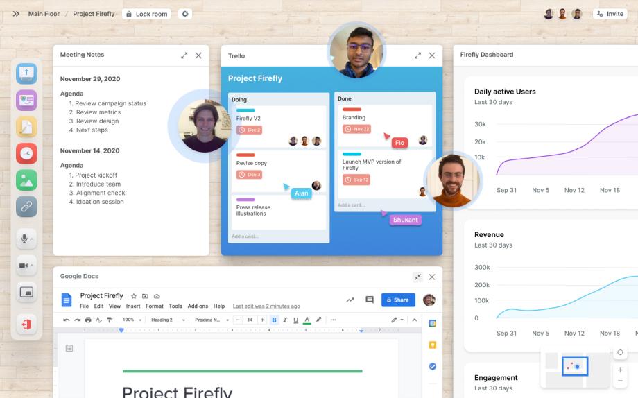 Teamflow's product UI