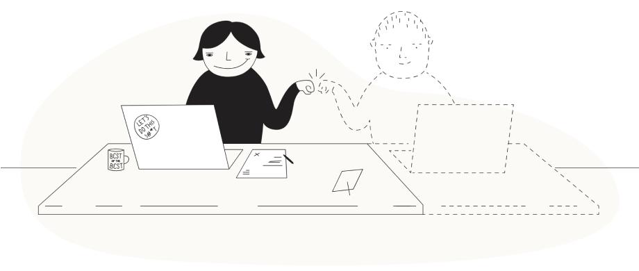 Focusmate illustration
