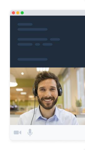 Embed prebuilt video widget illustration