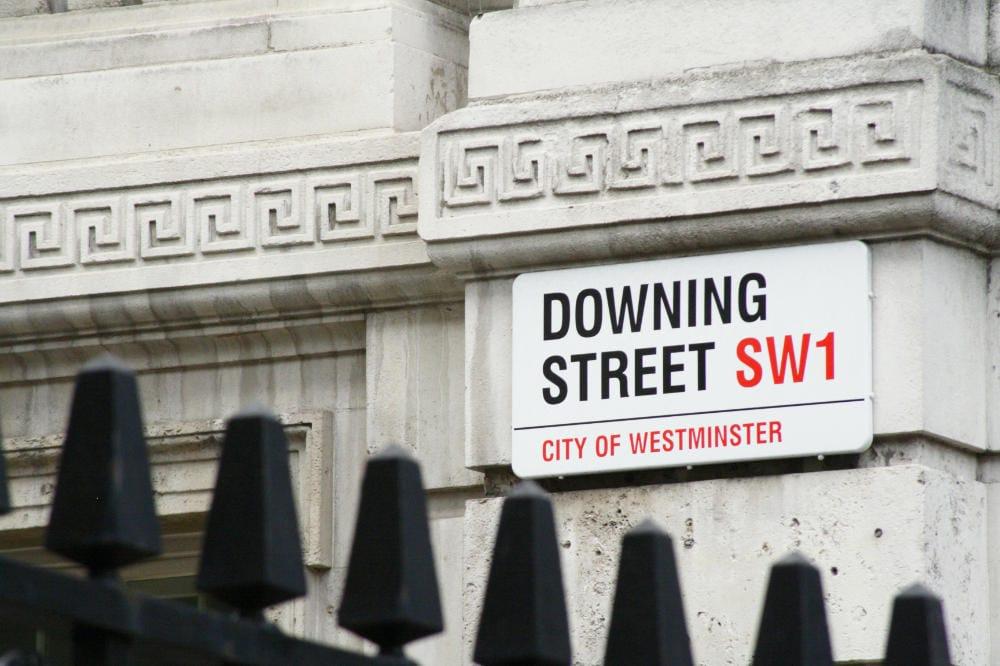 Downing Street street sign