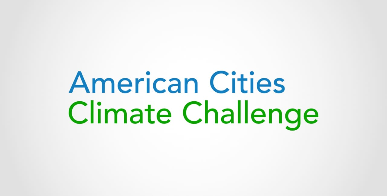 American cities climate change logo