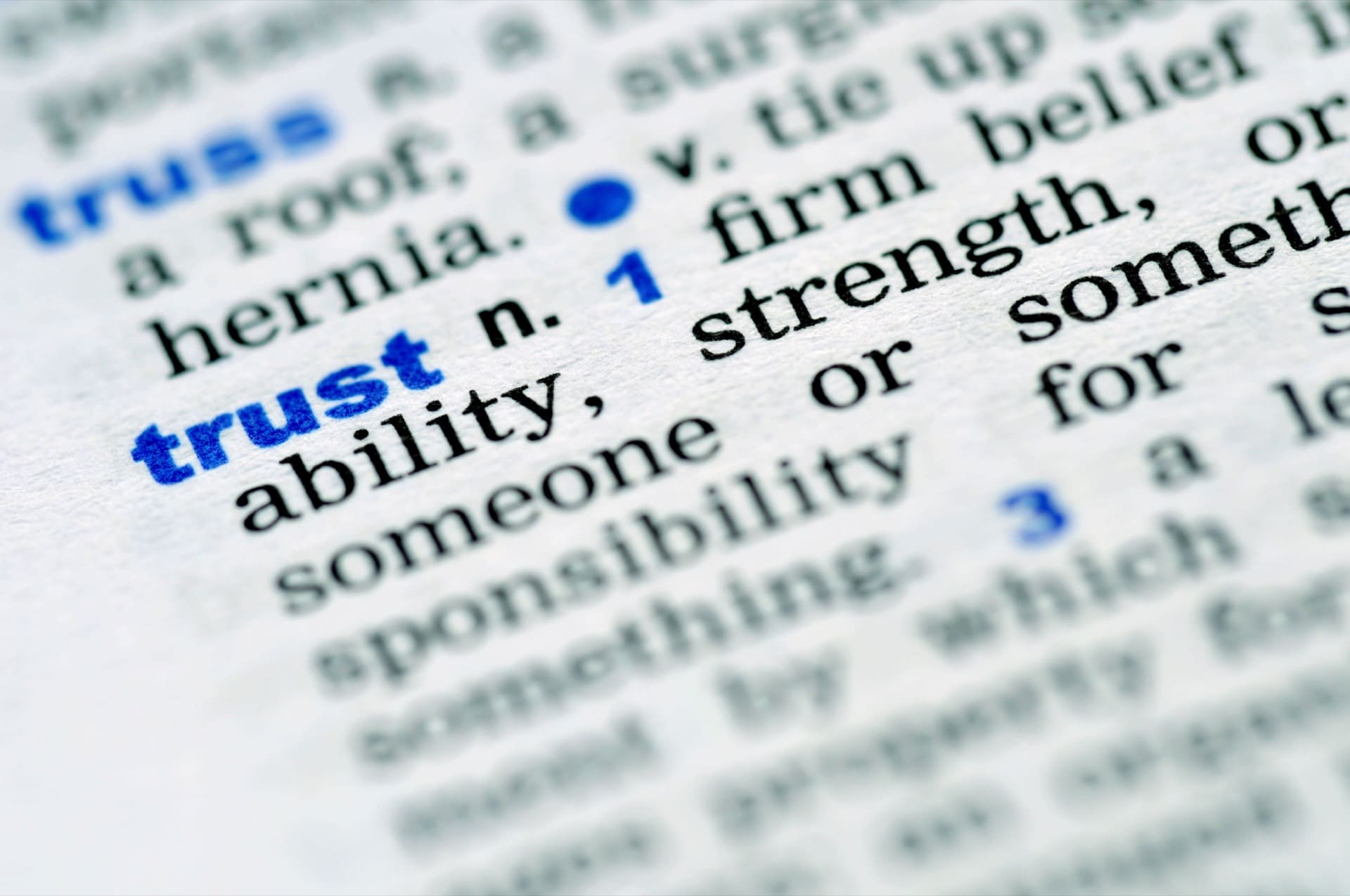 Rebuilding trust should be a top priority for leaders