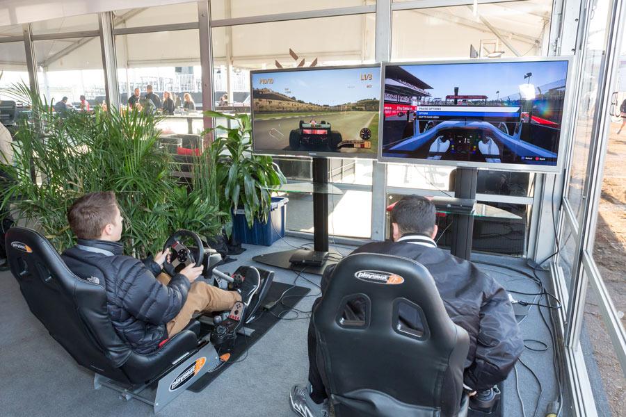 Racing Chairs & Racing Video Game