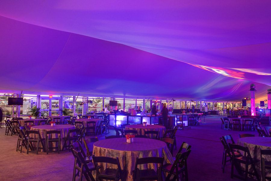 Lit Tents & Tables
