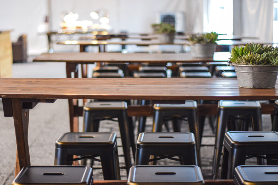 Long Tables & Stools