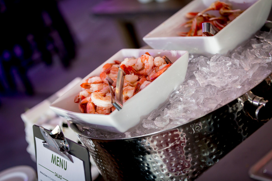 Catered Seafood on Ice