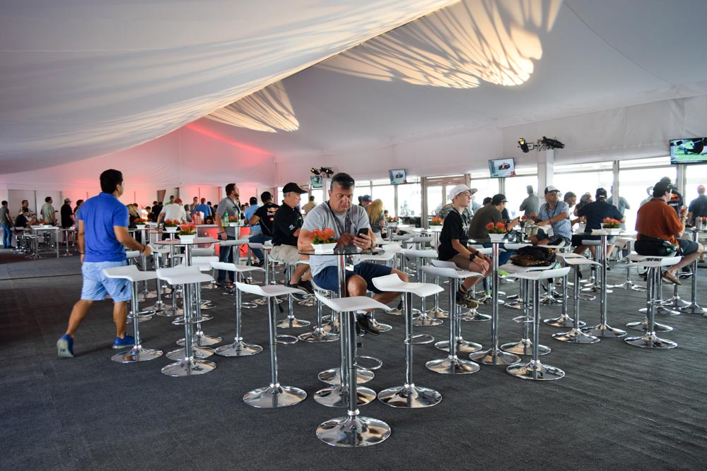 Event Lobby Tent with Furniture