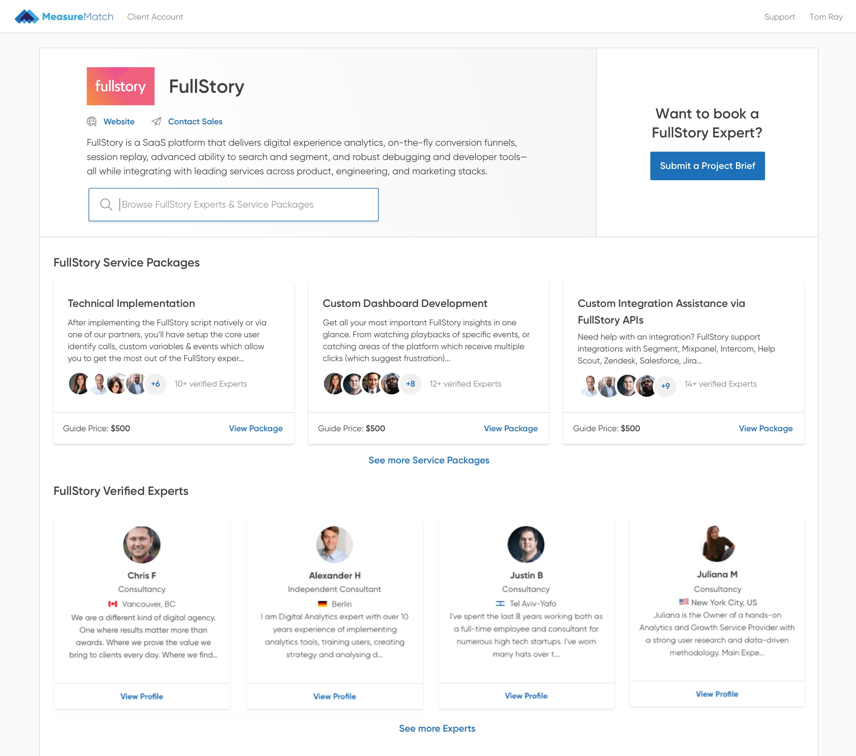 FullStory Partner Hub