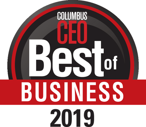 Columbus CEO Best of Business 2019 badge