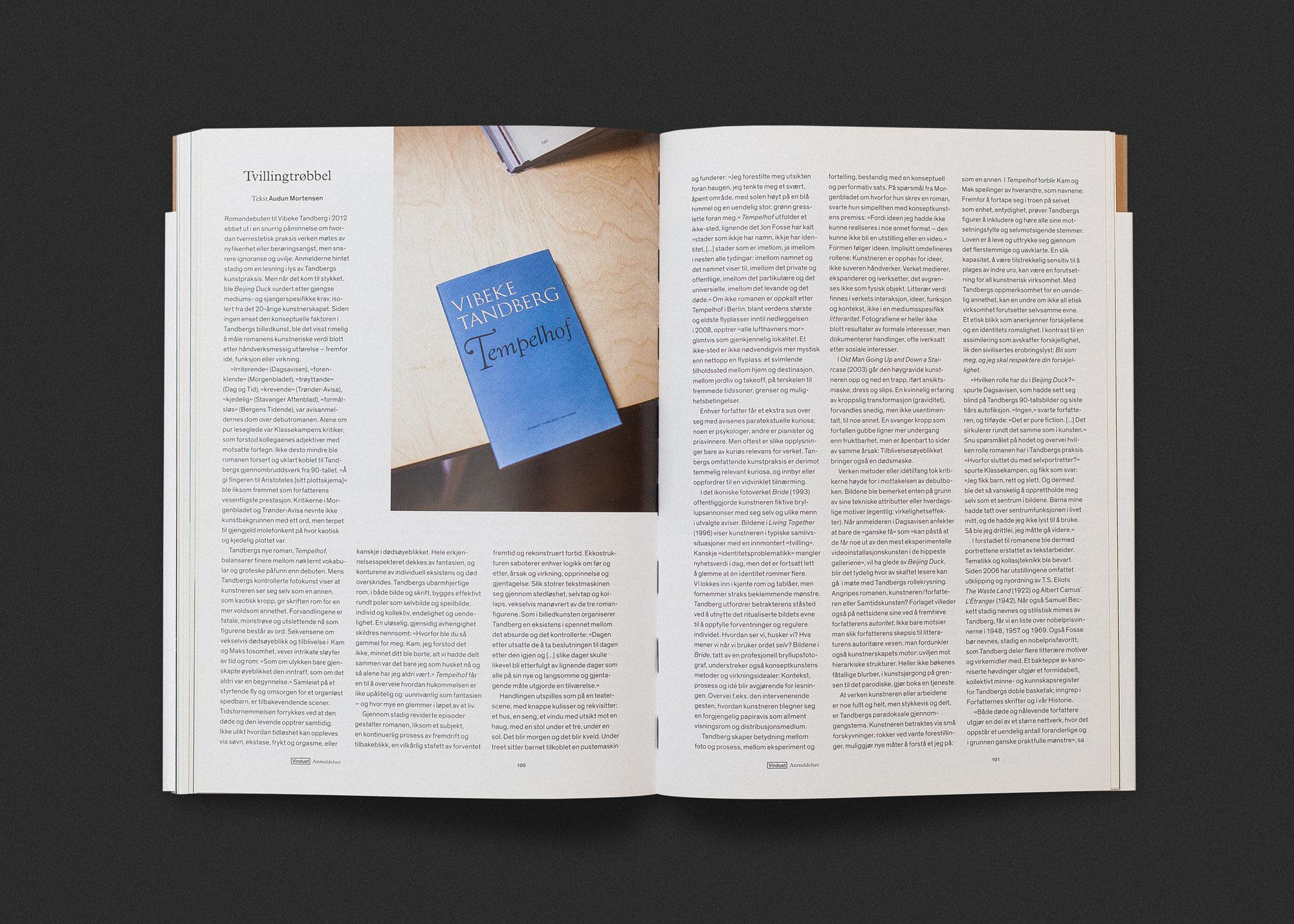 Vinduet literary journal