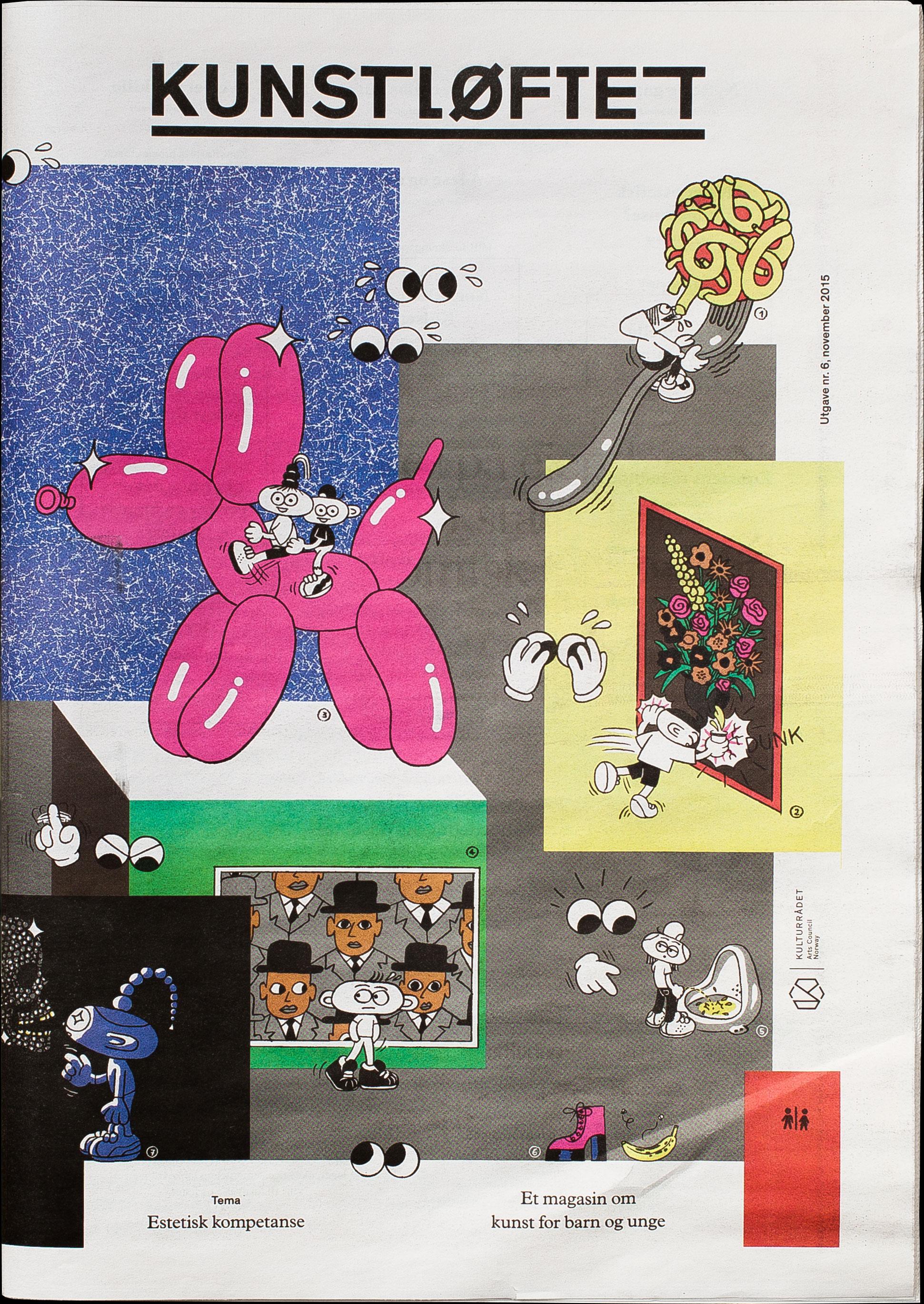 Kunstløftet journal