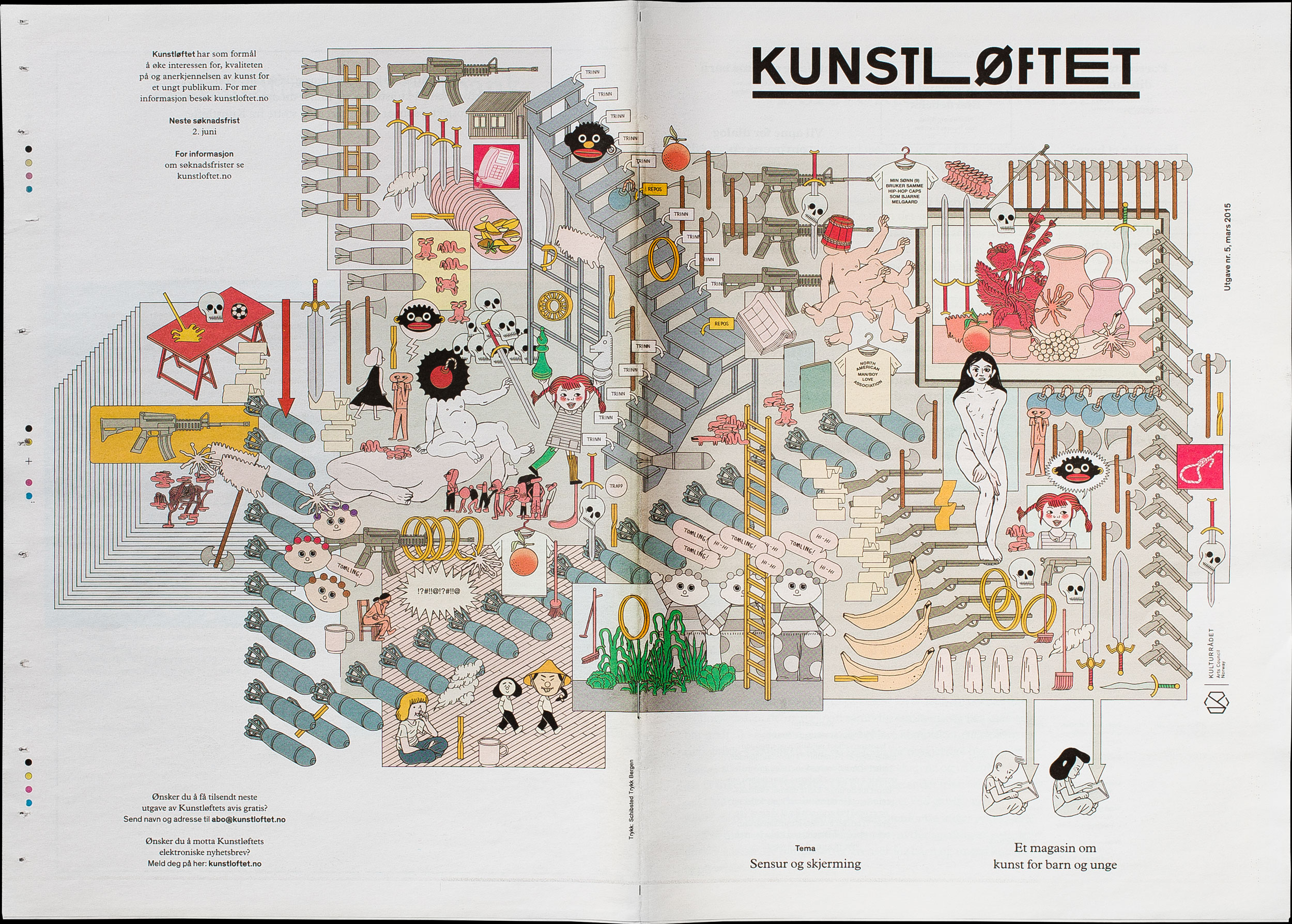 Kunstløftet journal