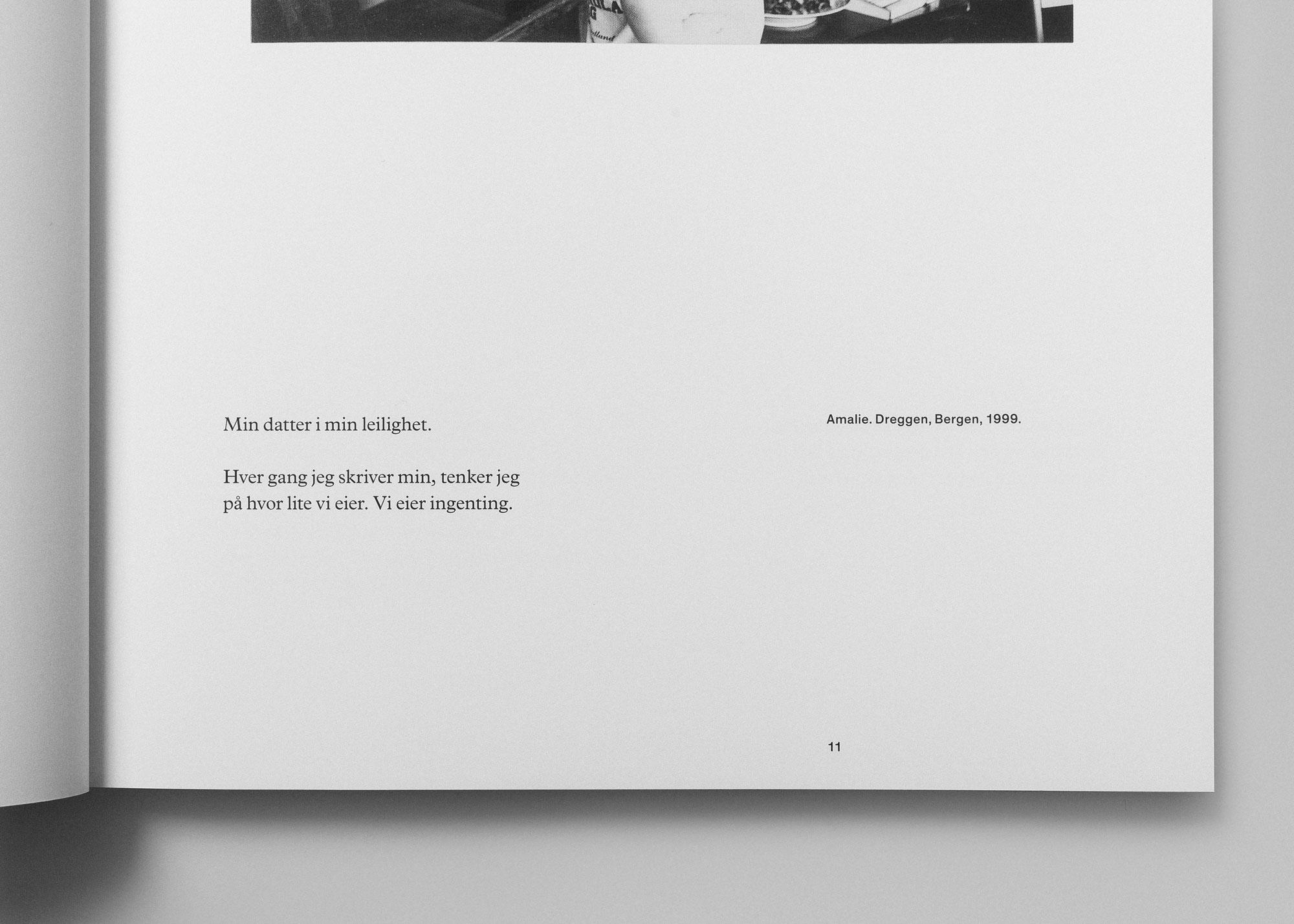 Tomas Espedal photo book