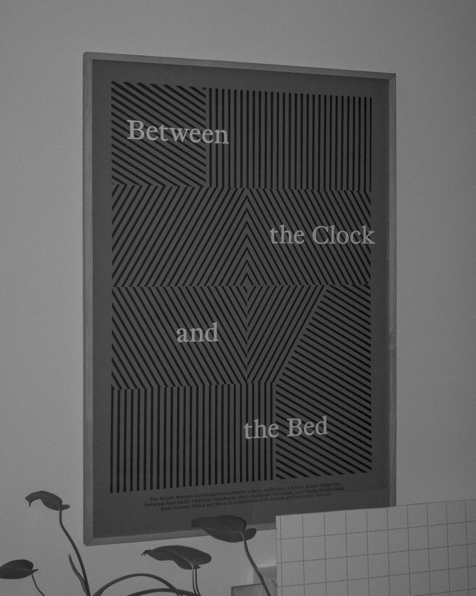 Between the Clock and the Bed poster