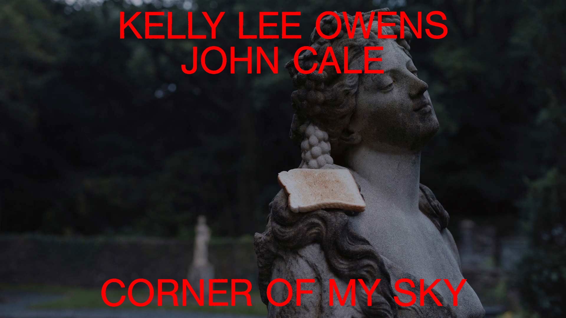 """Corner Of My Sky"" by Kelly Lee Owens featuring John Cale and Michael Sheen"