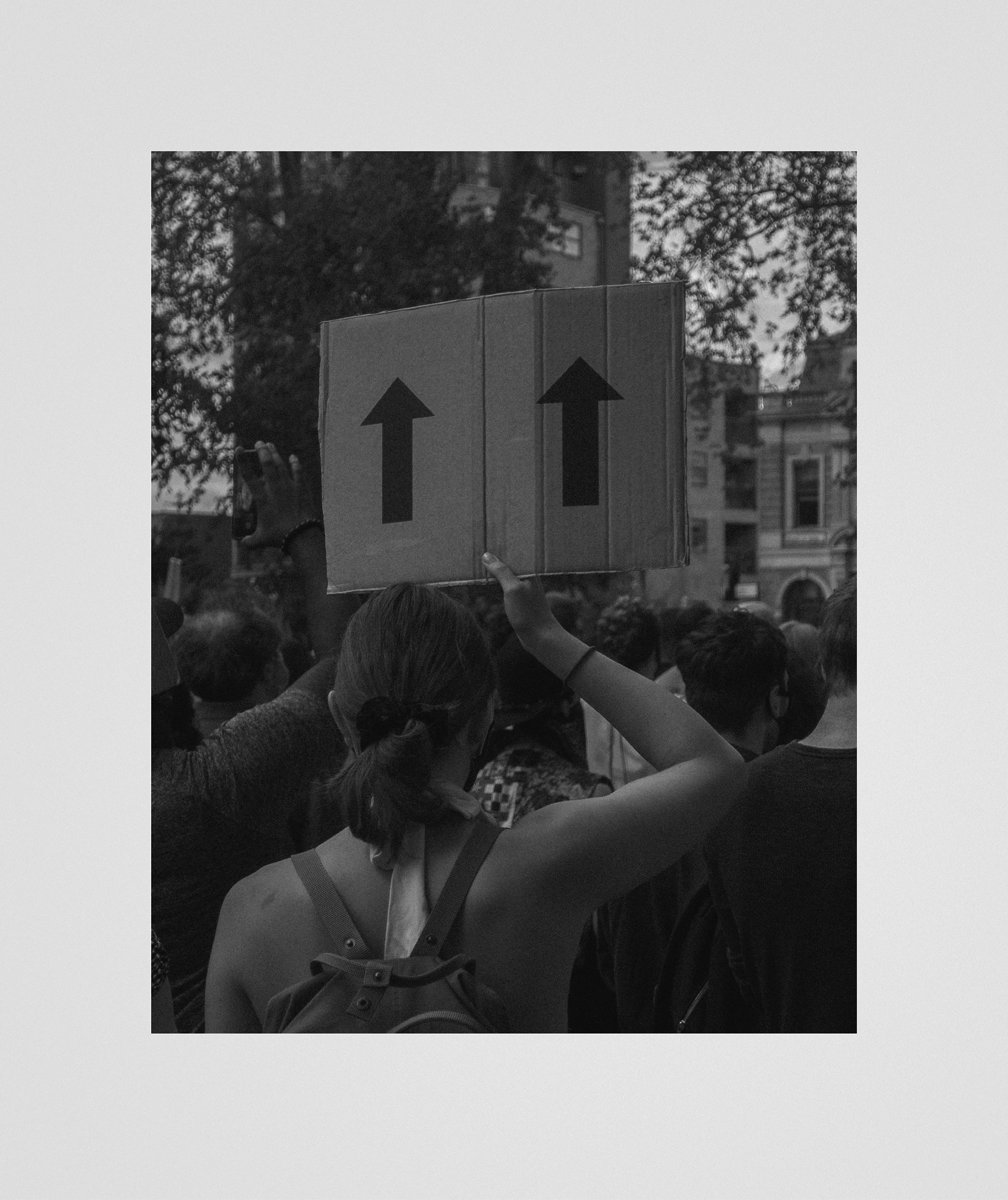 London, 13 June 2020 (print). 30x35,7cm, C-type print on archival paper, unframed.