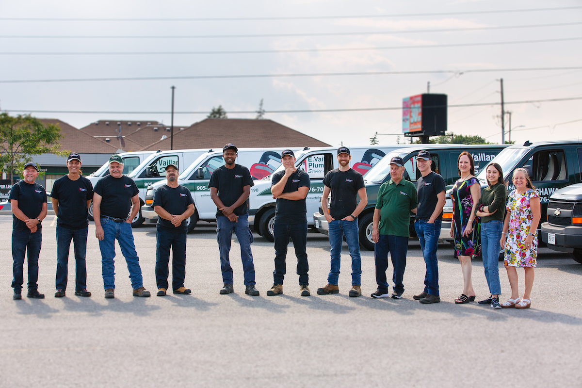 Vaillancourt Plumbing Team Photo