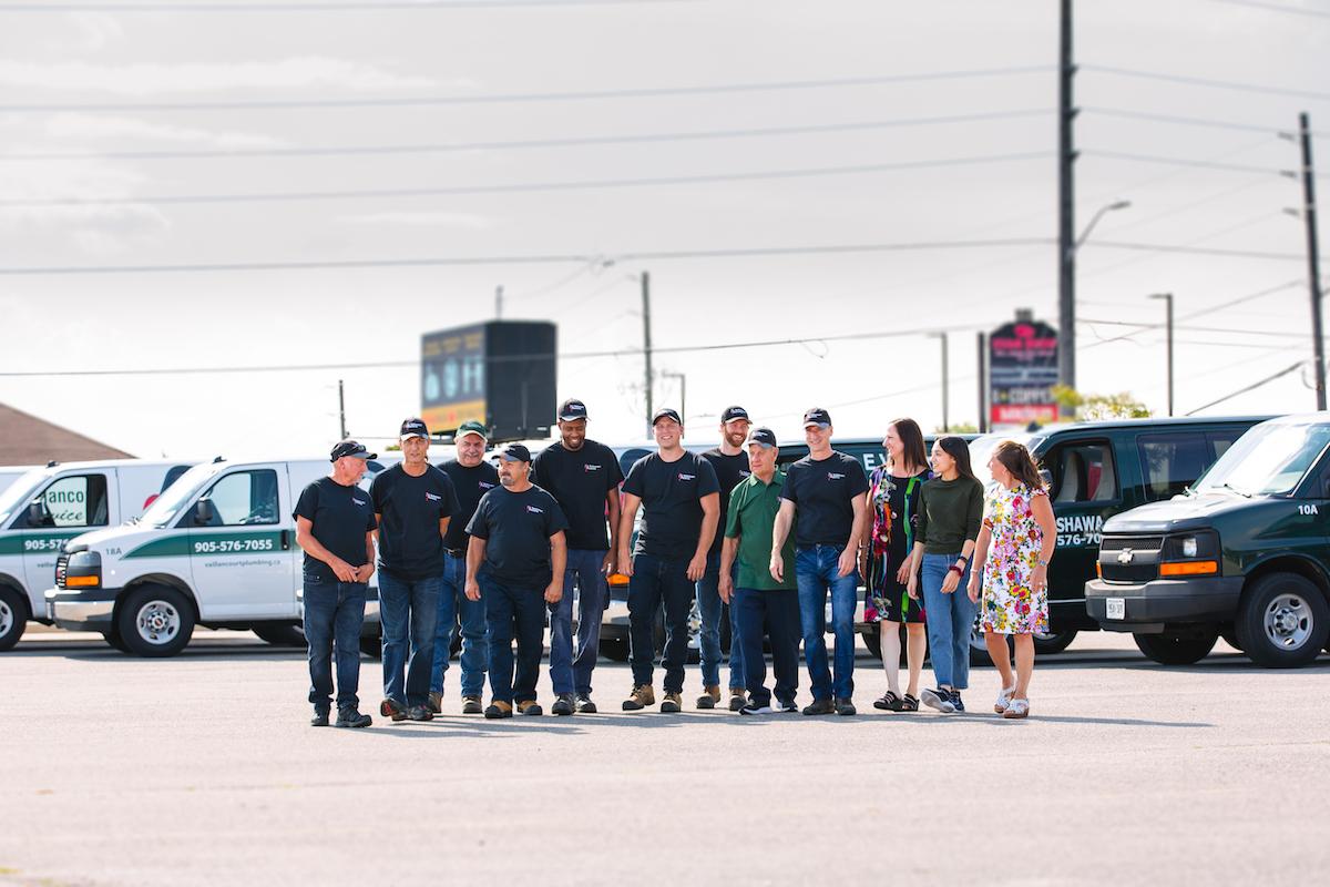 Vaillancourt Plumbing Team Photo
