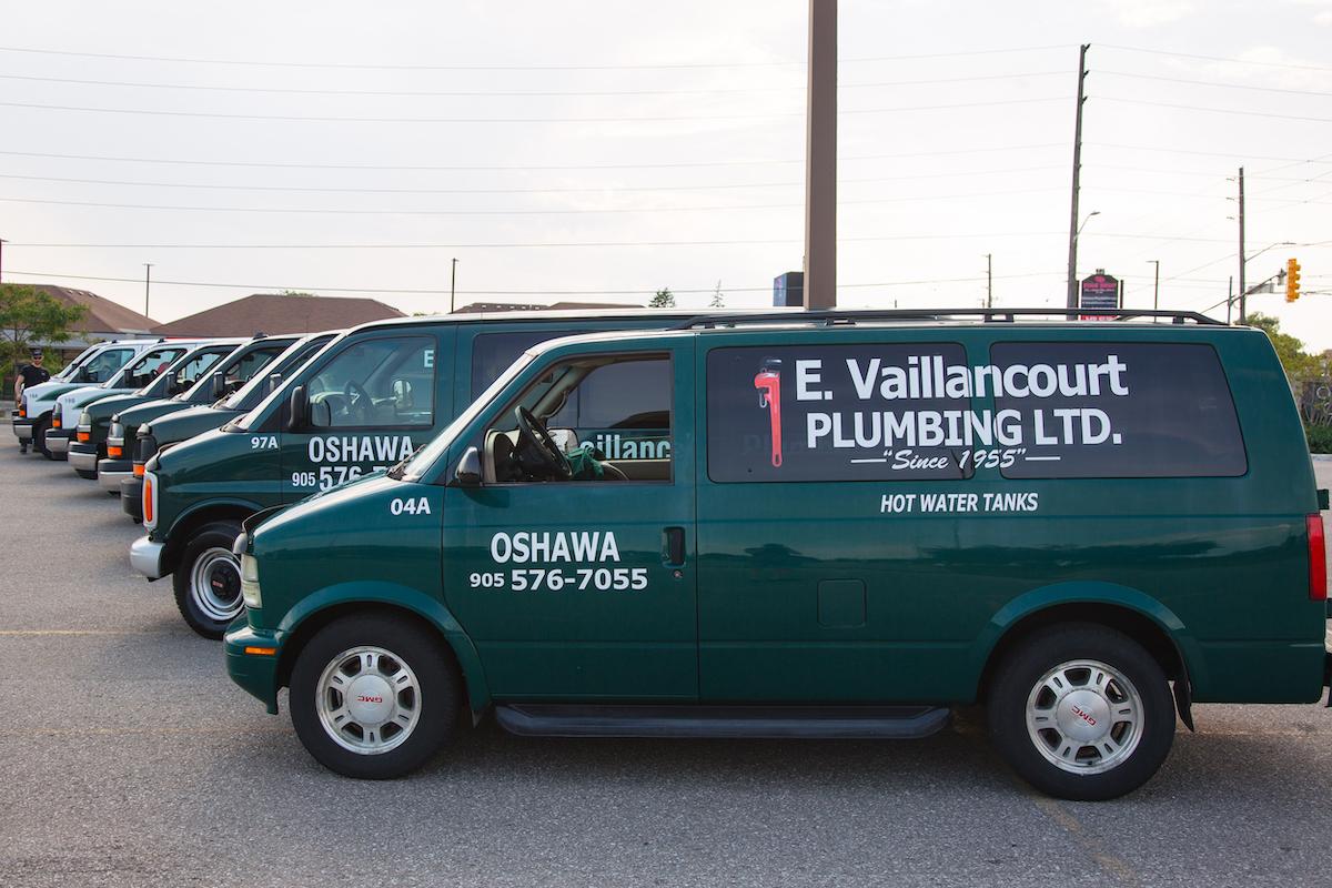 Vaillancourt Plumbing Trucks