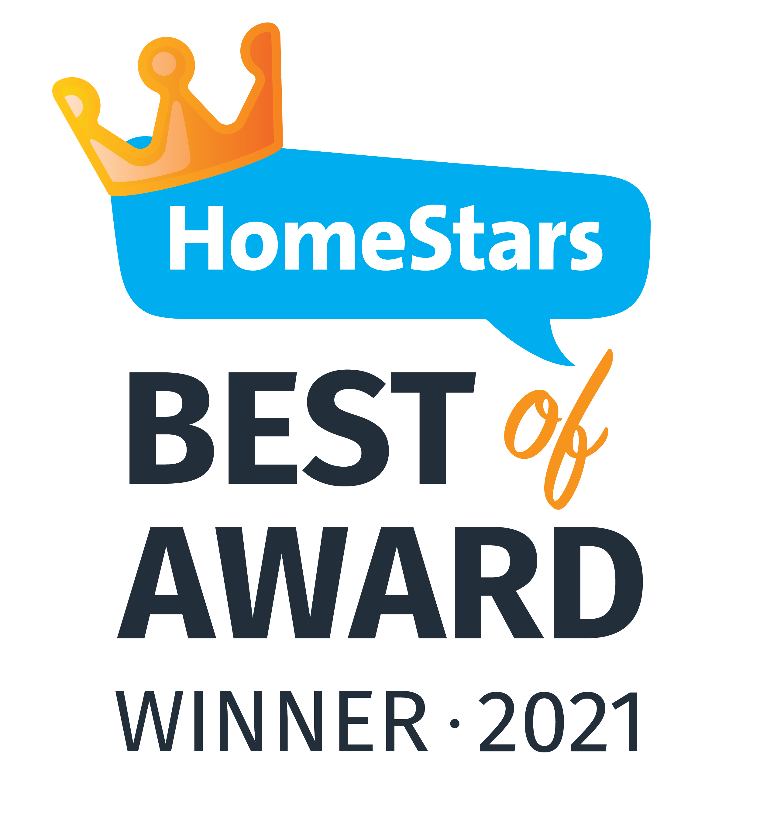 HomeStars Best of Aware Winner 2021