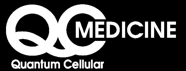 White Quantum Cellular Medicine logo