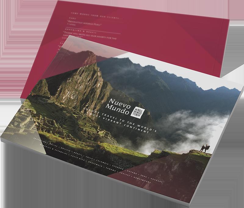 Nuevo Mundo Brochure Design