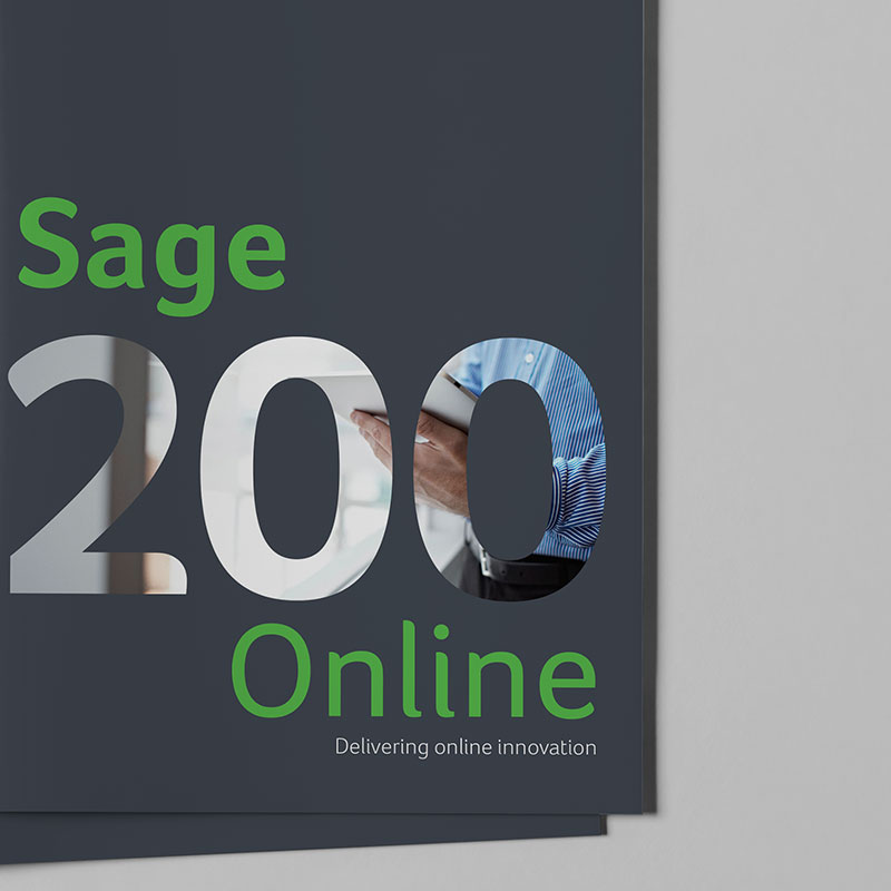 Sage 200 Brochure Cover