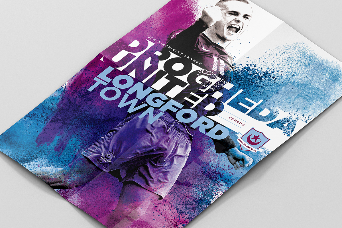 Drogheda United Match Poster Design