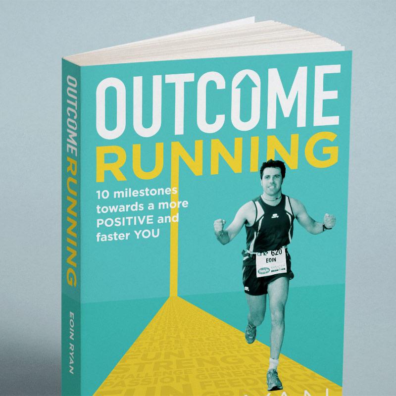 Outcome Running Book Cover Design