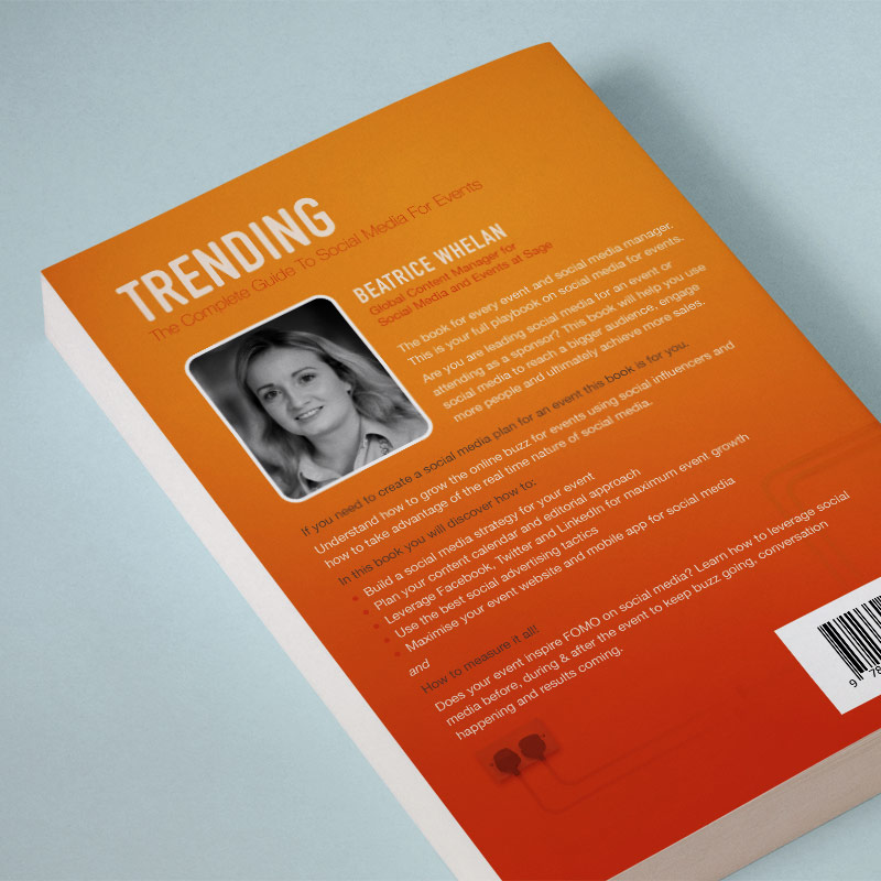 Trending Book Back Cover Design
