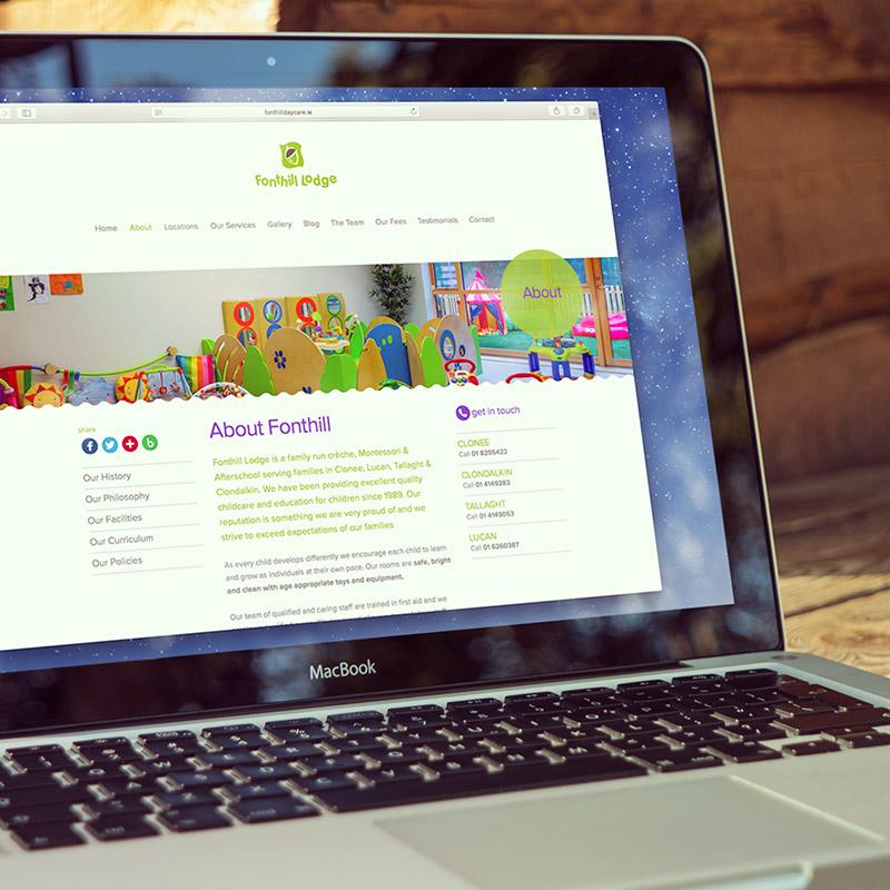 Fonthill Lodge Website