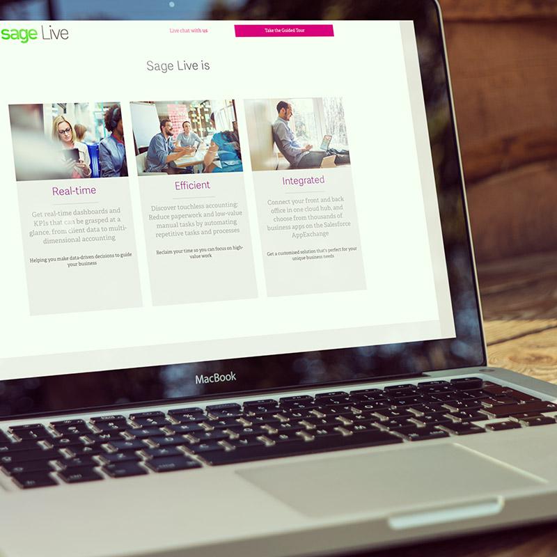 Sage Landing Page