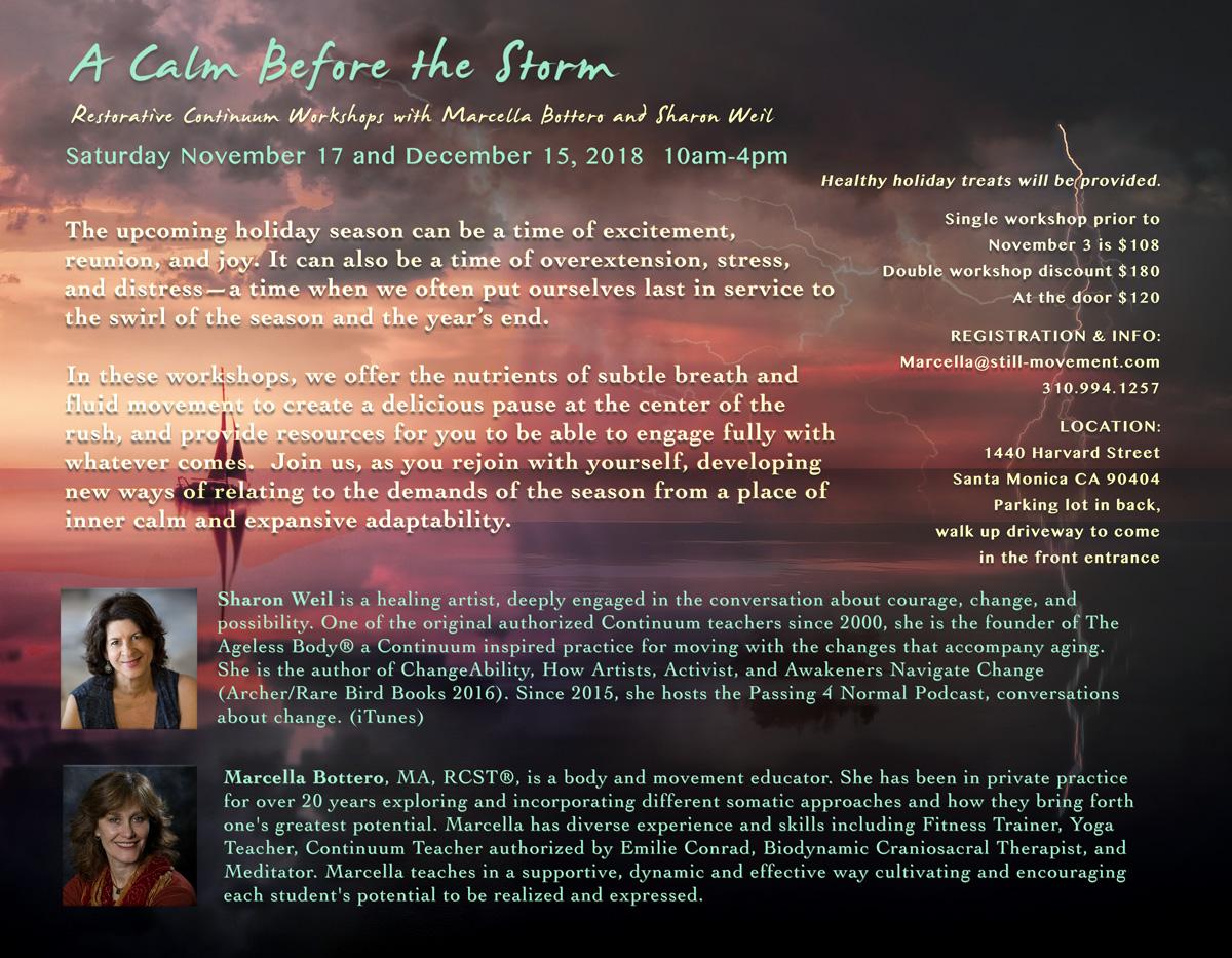 Continuum Event: A Calm Before the Storm