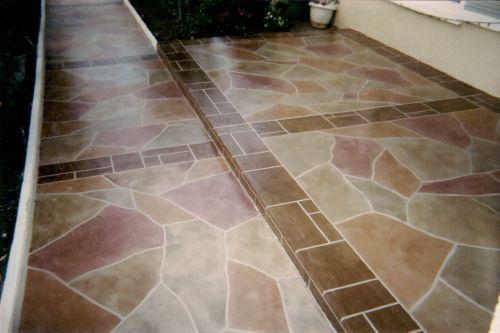 slate ribbon floor