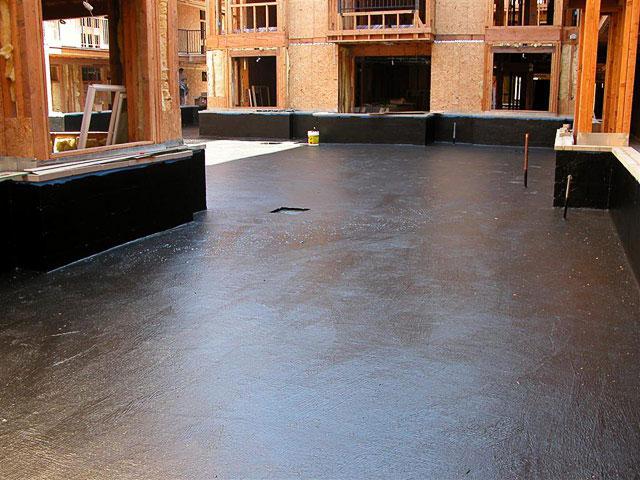below grade flooring